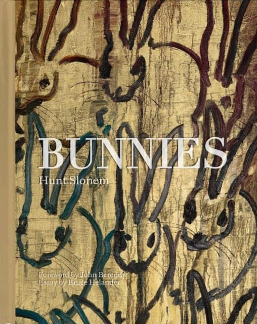 "Cover of Hunt Slonem's ""Bunnies"" book"
