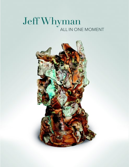"Cover of Jeff Whyman ""All in One Moment"" exhibition catalogue"