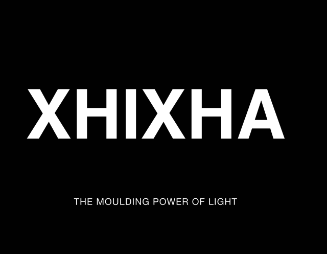"Cover of Helidon Xhixha's ""The Moulding Power of Light"" book"