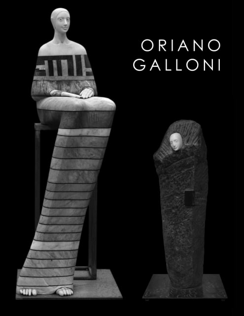 "Cover of Rosenbaum Contemporary's ""Oriano Galloni"" exhibition catalogue"