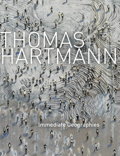 "Cover of ""Thomas Hartmann: Immediate Geographies"" exhibition catalogue"