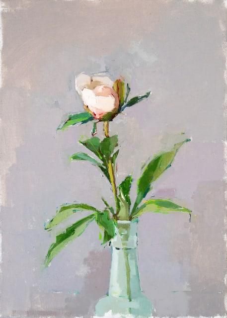 Sarah Spackman, 'White Peony Bud'