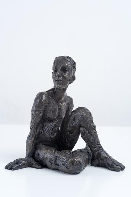 Carol Peace, Seated Male Figure 2