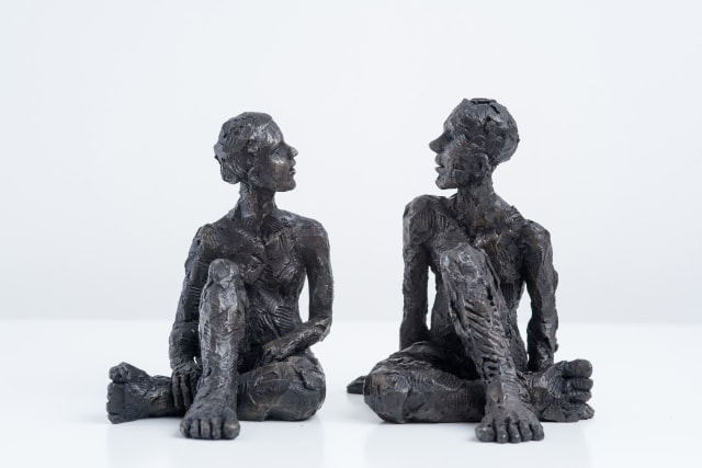 Carol Peace, Couple, Male and Female Figures 2