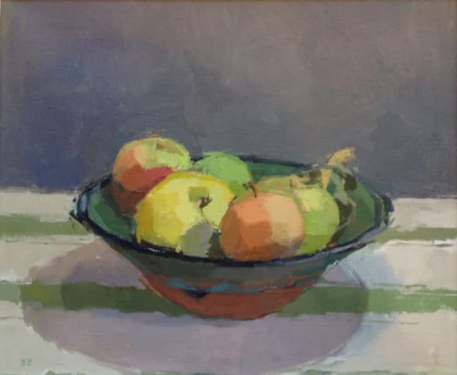 Sarah Spackman, Sheila's Apples, 2016