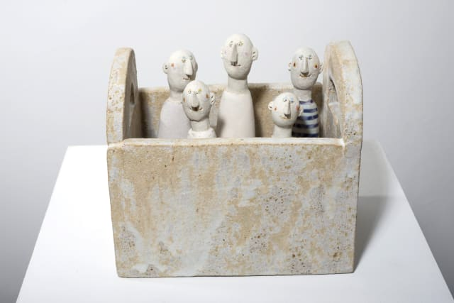 Jane Muir , Five Men in a Box