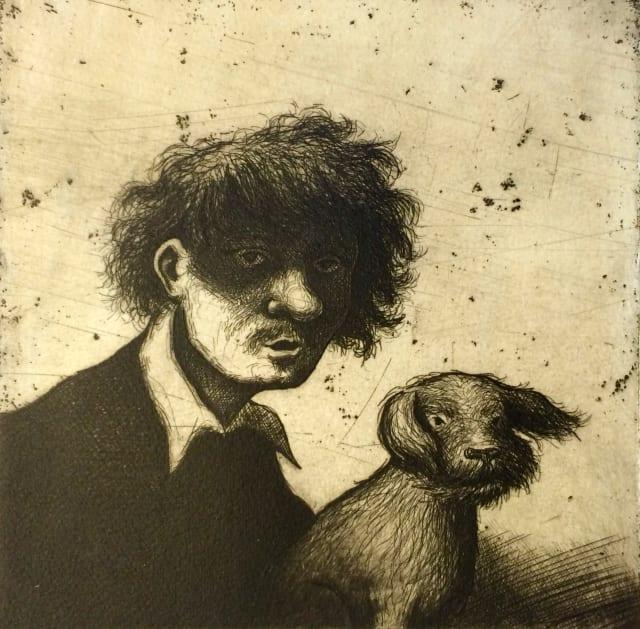 Mychael Barratt, Rembrandts's Dog II