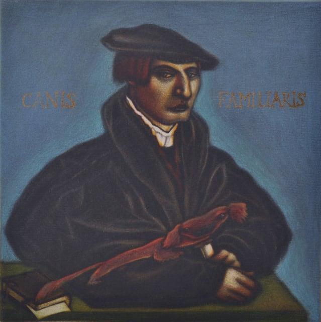 Mychael Barratt, Holbein's Dog , 2017