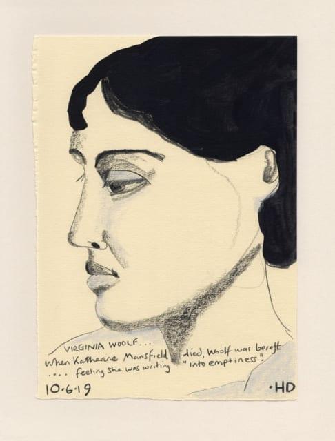 Henrietta Dubrey, Virginia Woolf, 2019
