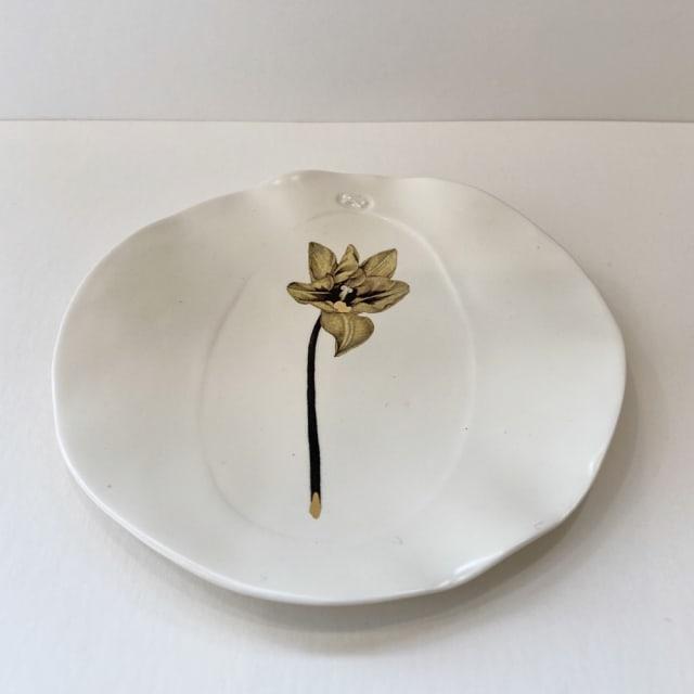 Fliff Carr, Tulip Plate, 2019