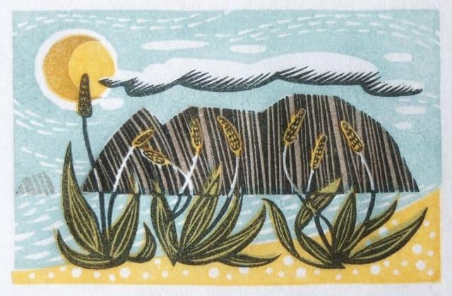 Angie Lewin, Sea Plantain