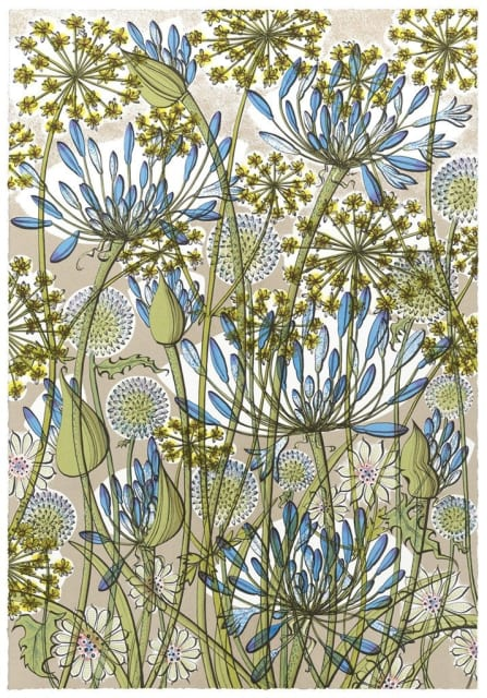 Angie Lewin, The Walled Garden