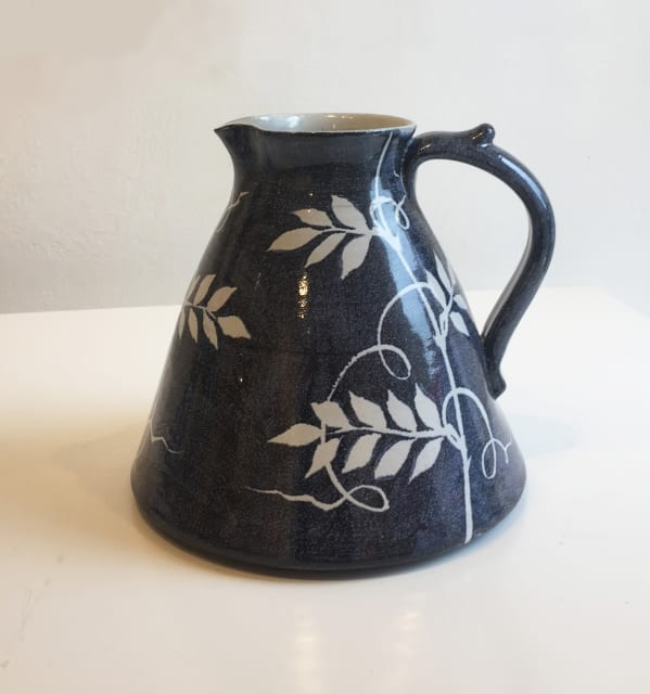 Tydd Pottery, Jug - Wisteria - Medium