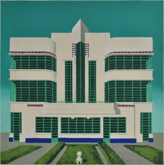 Wes Anderson's Dog - Hoover Building