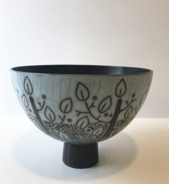 Trees, Large Footed Bowl