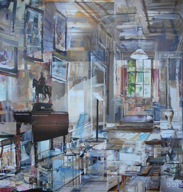 Alison Pullen, Osterley Park House, Corridor, 2019