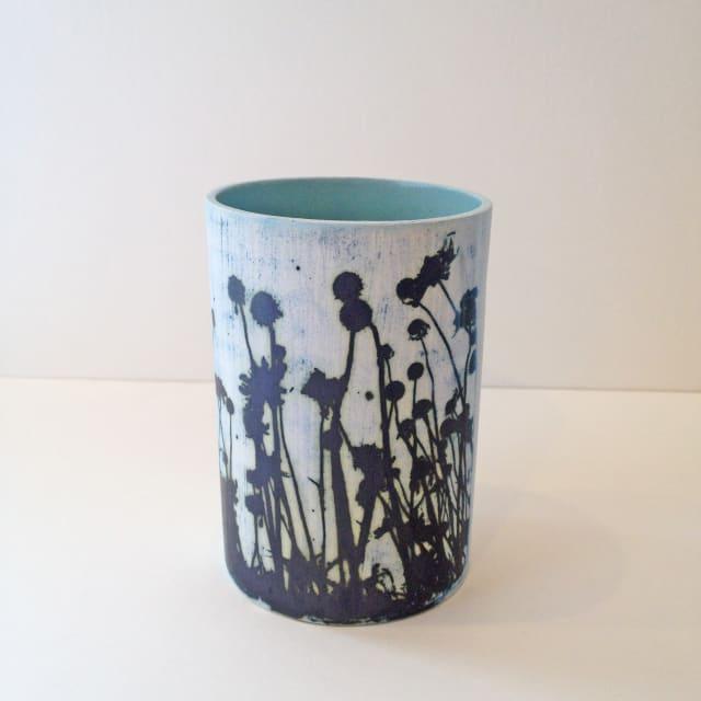 Kit Anderson, Sky Flowers Medium Vase, 2019