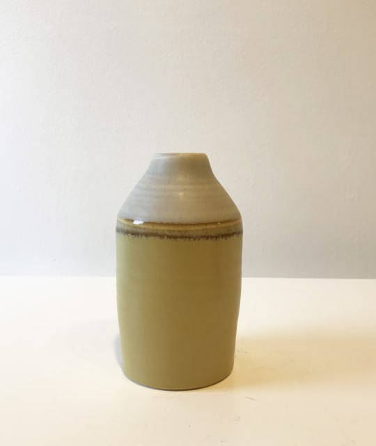Small Yellow Two-Tone Bottle