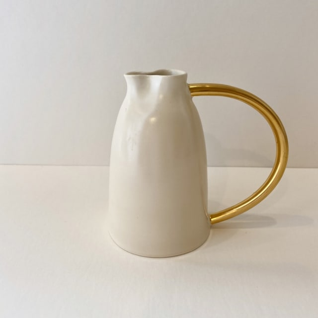 Fliff Carr, Jug with Gold Handle, 2019