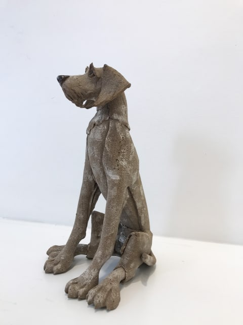 Small Brown Dog, Seated