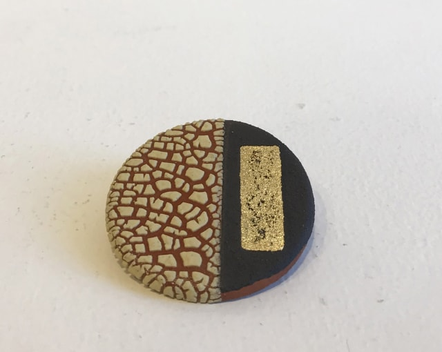 Emma Williams, Brooch in Yellow and Gold