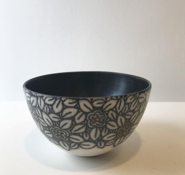 Debbie Barber, Flowers, Medium Bowl