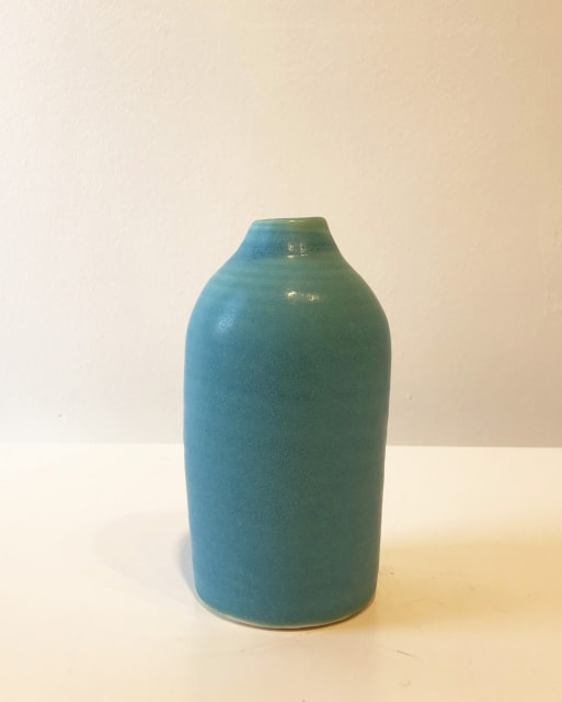Small Turquoise Bottle