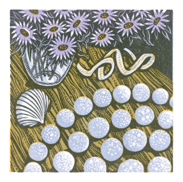 Angie Lewin, Pebble Spiral