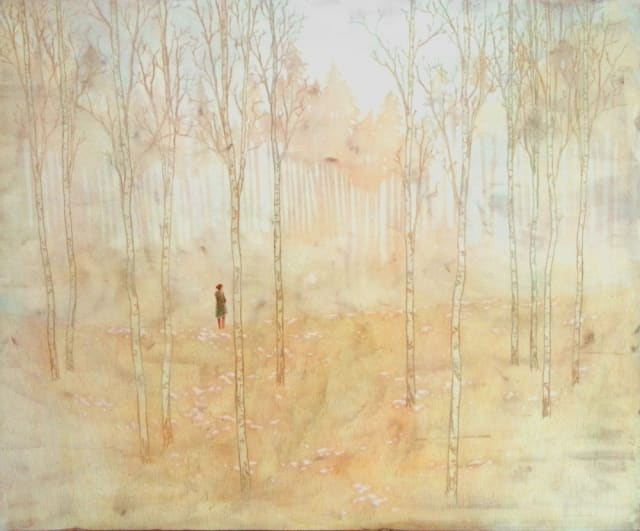 Daniel Ablitt, 'Woodland Glow', oil on panel, H 127 cm x 154 cm