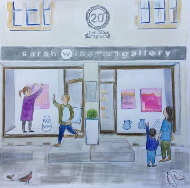 Sarah Lacey, 'Sarah Wiseman Gallery 20th Anniversary'