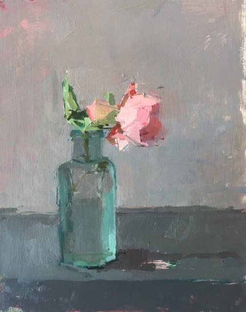 Sarah Spackman, 'Generous Gardener', oil on board, H 35 x 30 cm framed