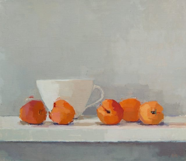 Sarah Spackman, 'Apricot Shelf'