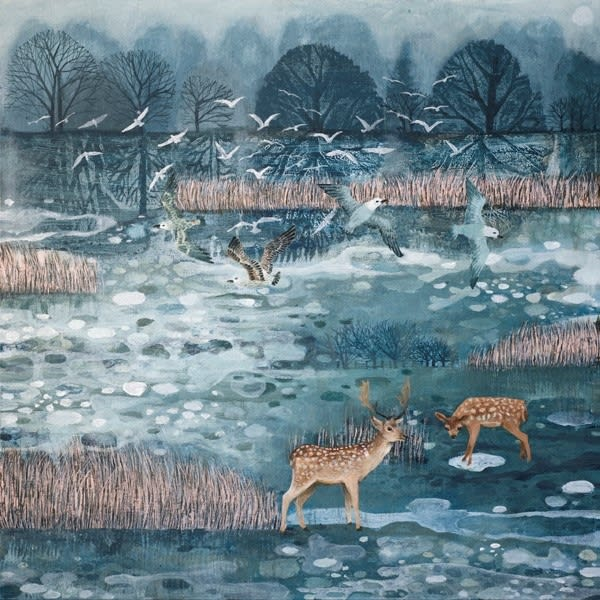 Dawn Stacey, 'Morning Walking on Ice'