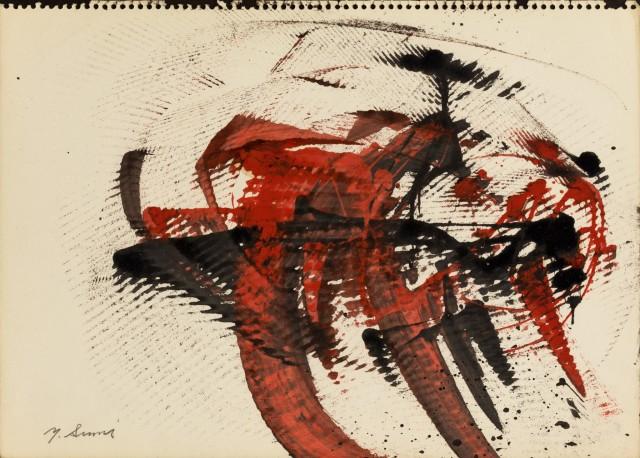 Yasuo Sumi, Untitled, 1954