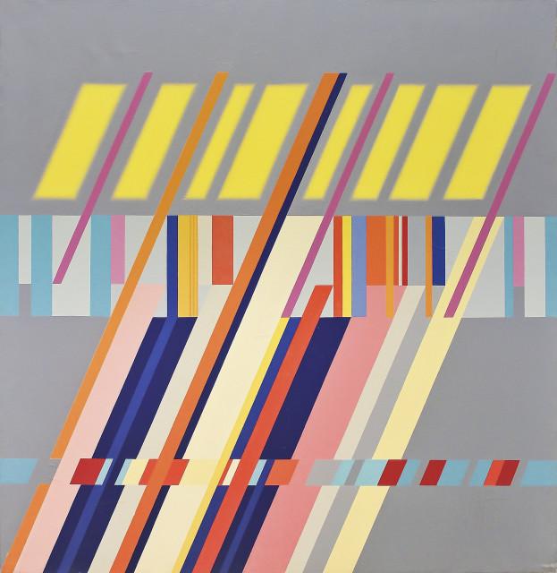 <span class=&#34;artist&#34;><strong>Carlo Nangeroni</strong></span>, <span class=&#34;title&#34;><em>Diagonali - serie - luce I</em>, 1962</span>