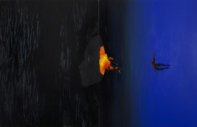 Daniela Yohannes, Dark Matter, Deeper Into The Abyss, 2019