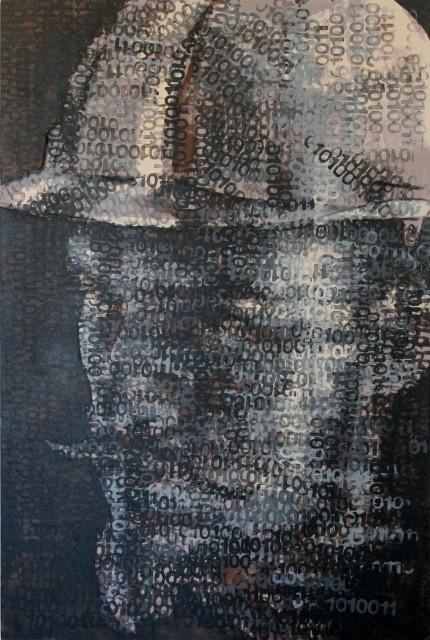 <span class=&#34;artist&#34;><strong>Claude Chandler</strong></span>, <span class=&#34;title&#34;><em>Bit-Miner #1</em>, 2018</span>