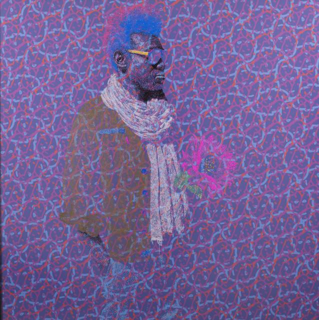 <span class=&#34;artist&#34;><strong>Evans Mbugua</strong></span>, <span class=&#34;title&#34;><em>BISOUS NA BISOUS</em>, 2017</span>