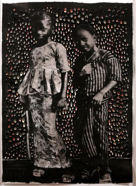 Toyin Loye, Little Sisters, 2019