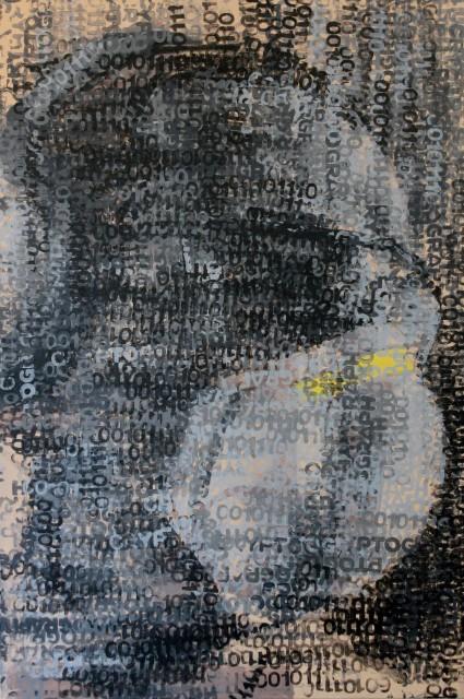 <span class=&#34;artist&#34;><strong>Claude Chandler</strong></span>, <span class=&#34;title&#34;><em>Bit-Miner #2</em>, 2018</span>