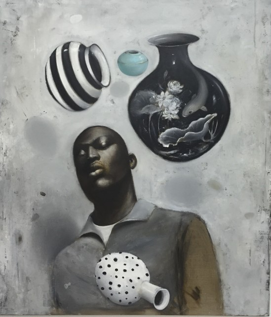 <span class=&#34;artist&#34;><strong>Ransome Stanley</strong></span>, <span class=&#34;title&#34;><em>FRAGILE V</em>, 2017</span>