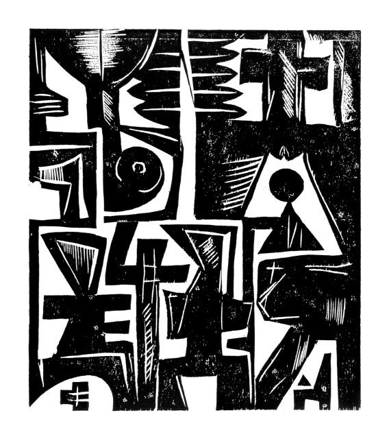 <span class=&#34;artist&#34;><strong>EL Loko</strong></span>, <span class=&#34;title&#34;><em>TAFEL 6</em>, 1983</span>