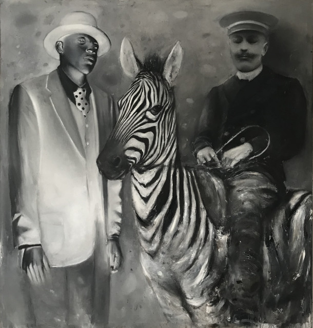 Ransome Stanley, STILL RIDING THE ZEBRA, 2019