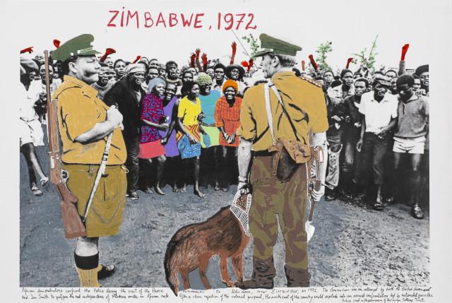 Marcelo Brodsky, ZIMBABWE II 1972, 2018