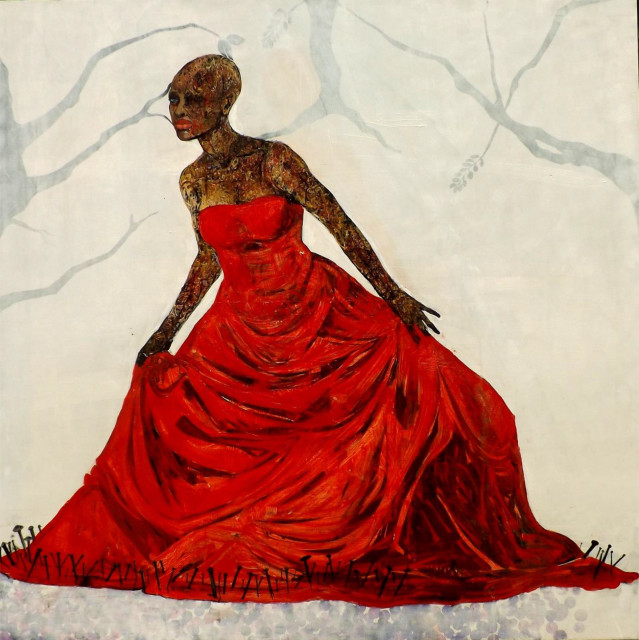 <span class=&#34;artist&#34;><strong>Ange Swana</strong></span>, <span class=&#34;title&#34;><em>EARTH BRIDE</em>, 2016</span>