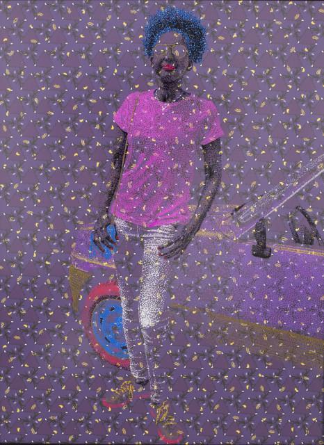 <span class=&#34;artist&#34;><strong>Evans Mbugua</strong></span>, <span class=&#34;title&#34;><em>TOP CINQ</em>, 2017</span>