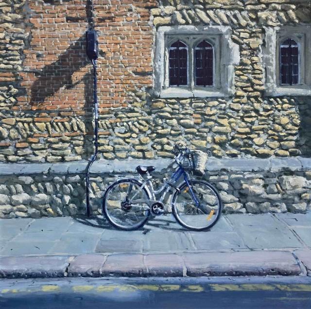 Ben Hughes, Bicycle in Trinity Lane, Cambridge