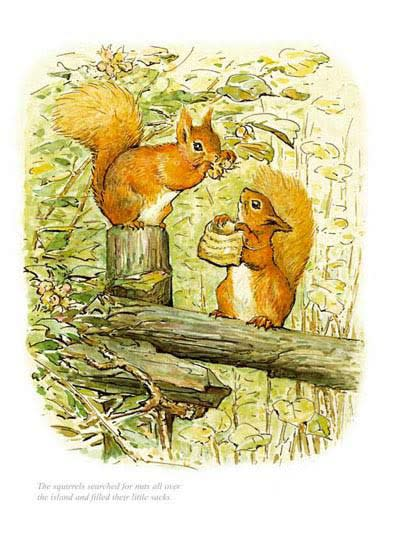 Beatrix Potter, Squirrel Nutkin