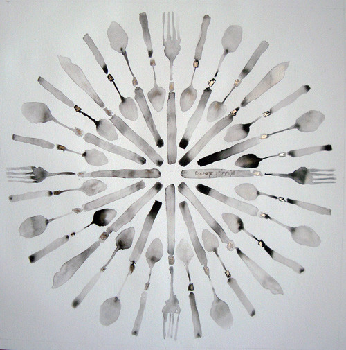 Bridget Davies, Circle of Cutlery