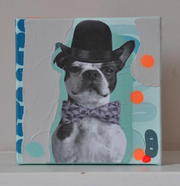 Jimmy Smith, George (French Bulldog)